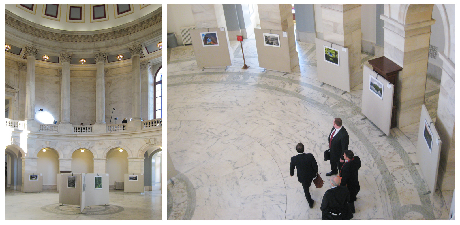 Roadless Photography Exhibit in the US Senate Building