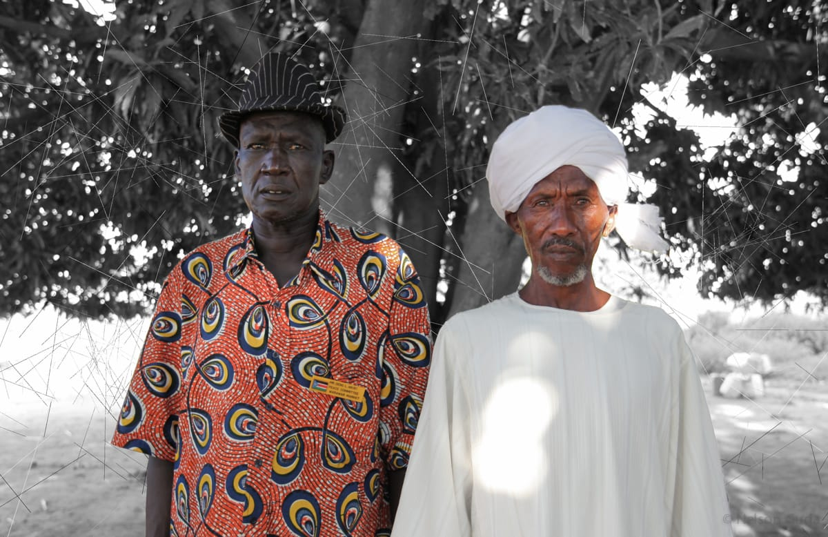 Dinka and Myseria Leaders, South Sudan