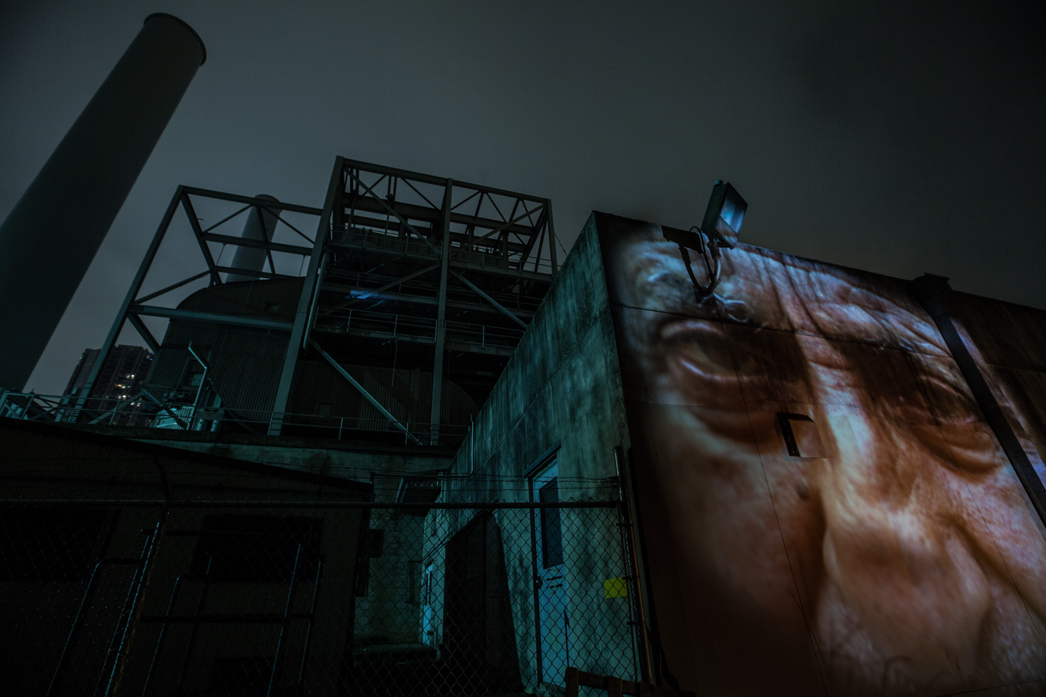 The Enemies Project, Chapter 3: Harsh Paradise • Projection Installation
