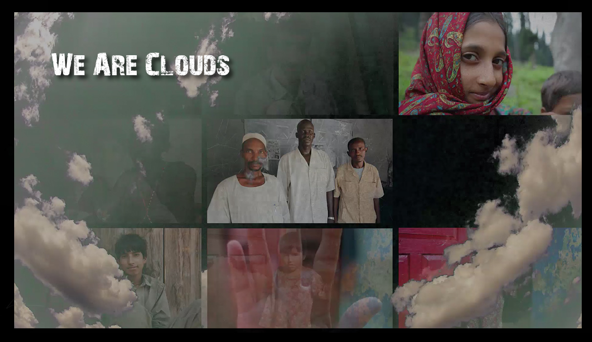 We Are Clouds • Projection Performance & Interactive Installation